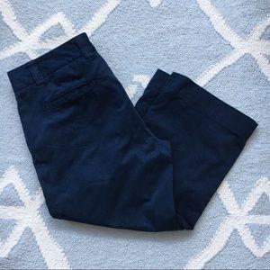 J.Crew / Navy Blue Capris / Size 10